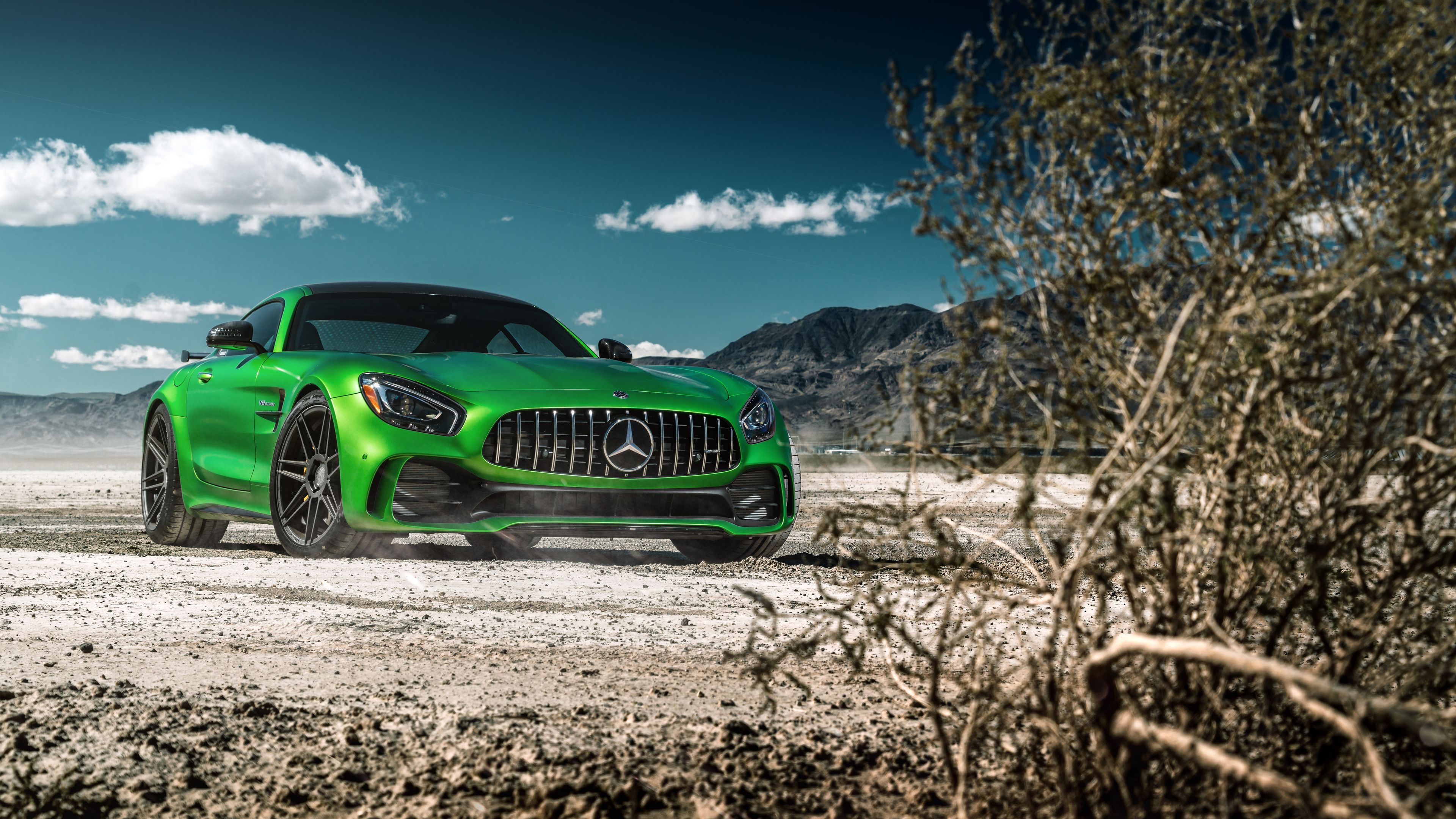 Green Mercedes Benz Amg Gt 4k Wallpaper Mercedes Wallpapers