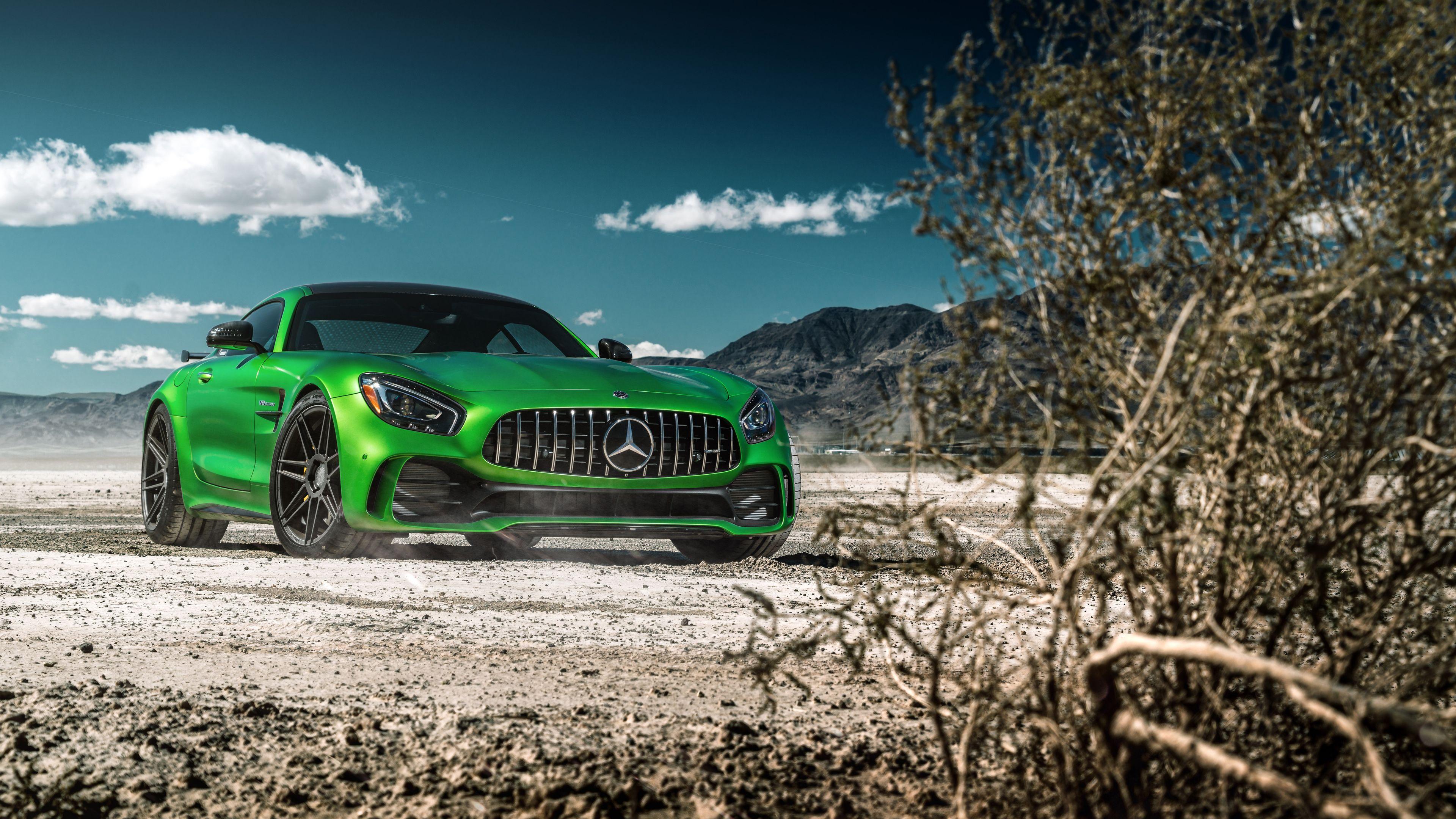 Green Mercedes Benz Amg Gt 4k Wallpaper Mercedes Wallpapers
