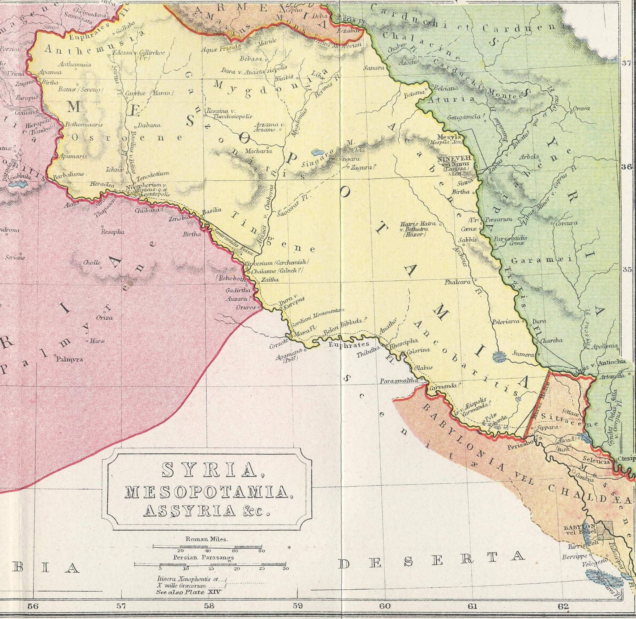 Public Domain Maps Of The Ancient World