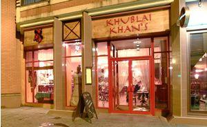 Khublai Khans Glasgow Mongolian Restaurant