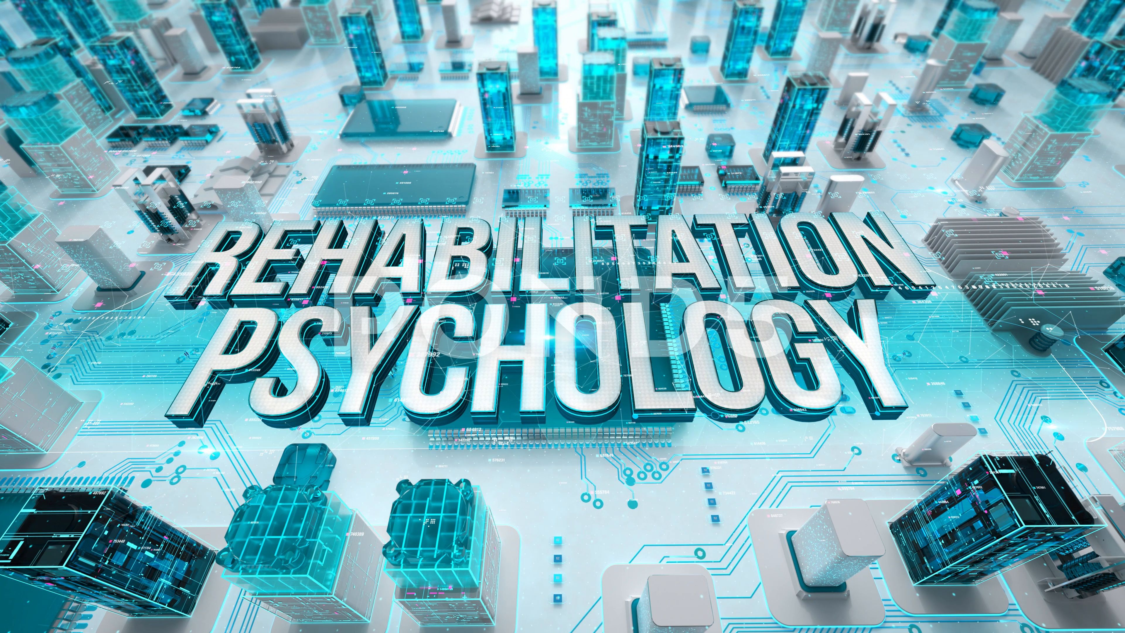 Rehabilitation Psychology with medical digital technology