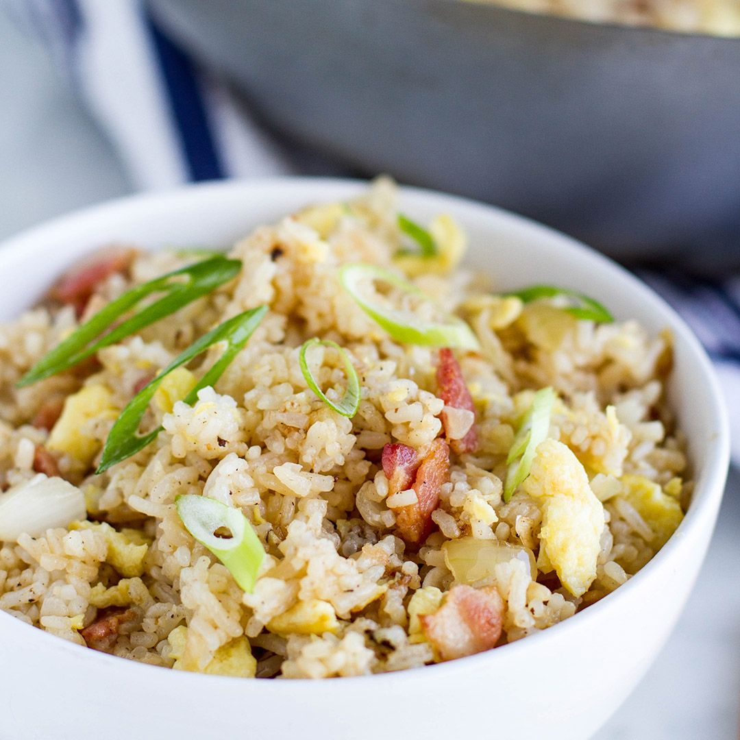 Bacon And Egg Fried Rice Recipe by Tasty
