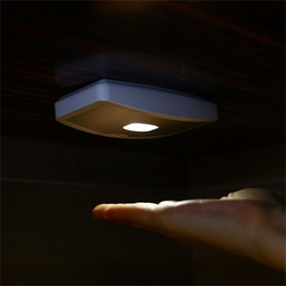Motion sensor activated optically controlled energy saving induction