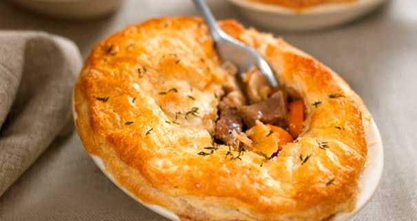 Try this hearty steak and ale pie ovals recipe for a ...