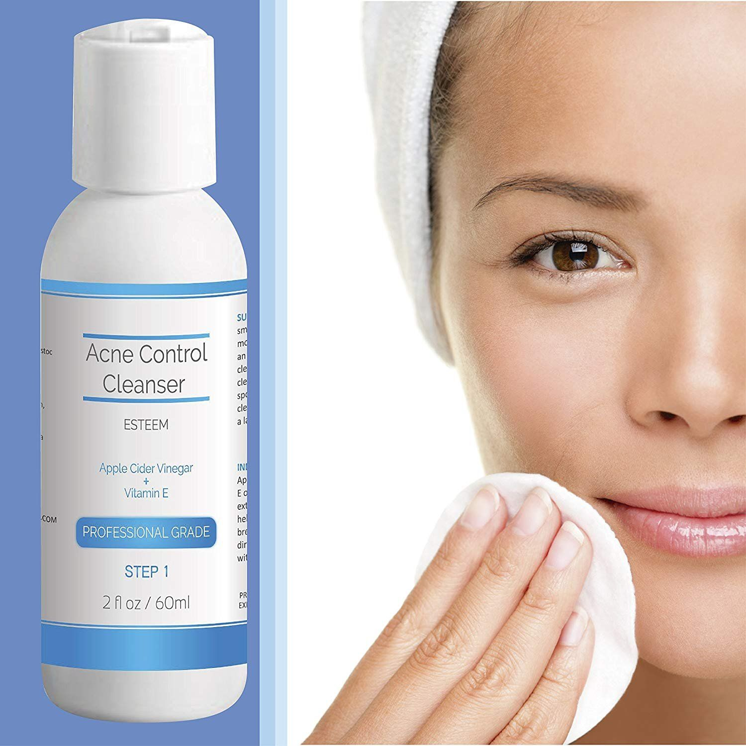3ec913934951 Natural & Organic Proactive Acne Control Cleanser & Face Wash + ...