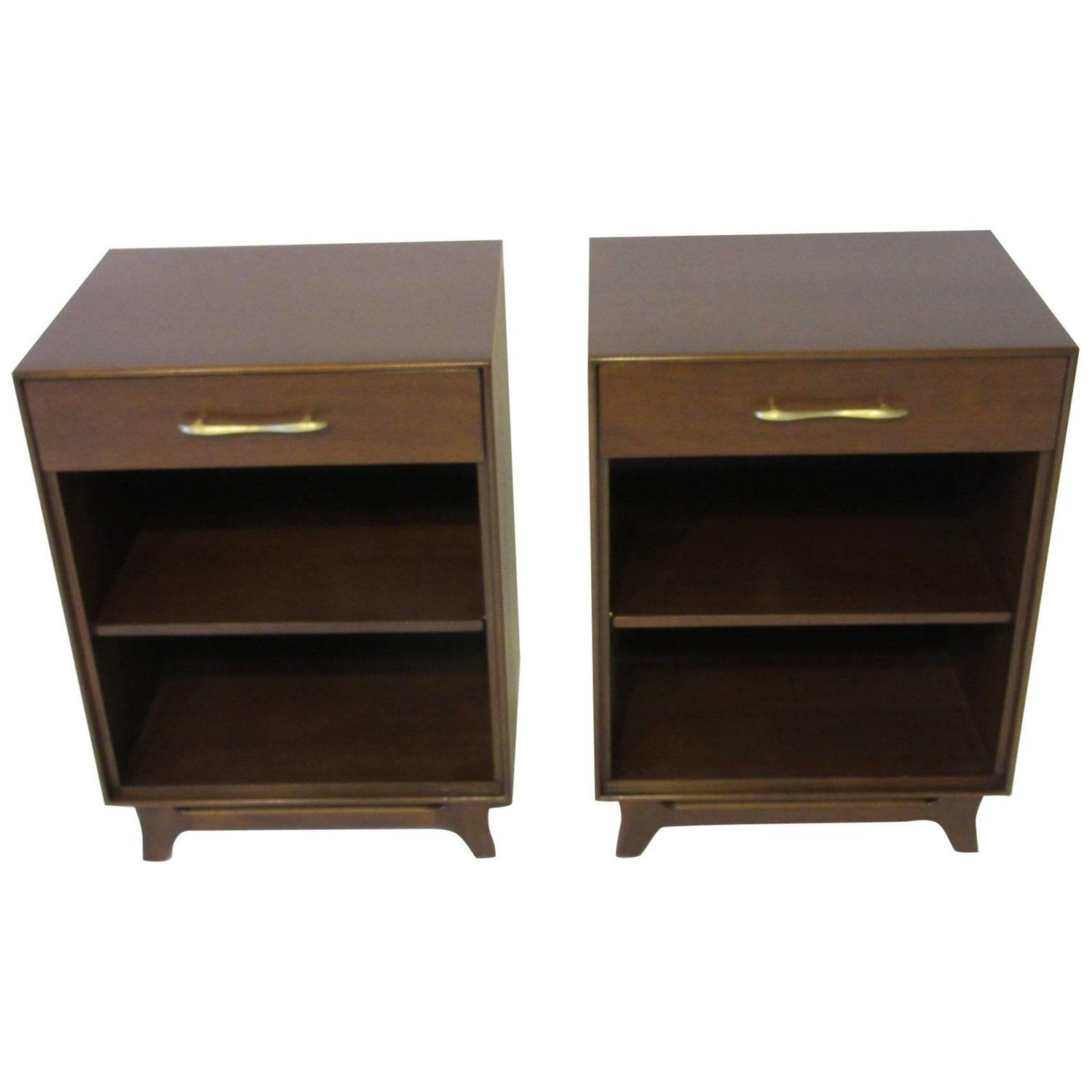 Walnut Nightstands By R Way Modern