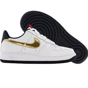 new arrival 4e3fc 31db1 Nike Air Force 1 Low (white   metallic gold   obsidian) 314192-173 -  69.99