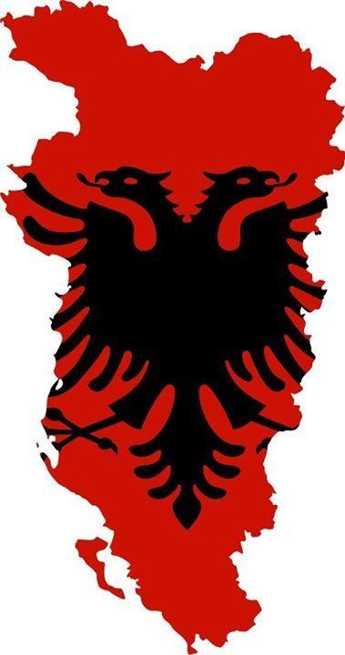 Map Of Albania Albania Flag Albanian Flag Albania Football