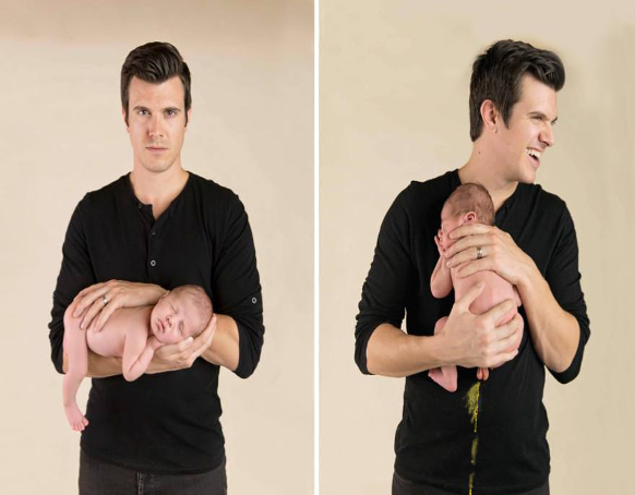 13 Most Funny Newborn Baby Photoshoot Fails Real Shit Lol