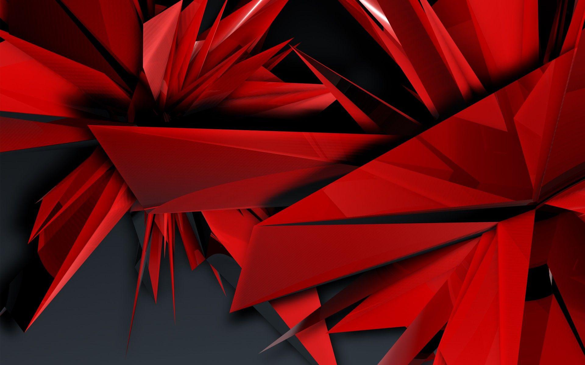 Fantastic Abstract Red Artwork Hd Wallpaper Picture For Pc Desktop Abstract Abstract Wallpaper Red Artwork