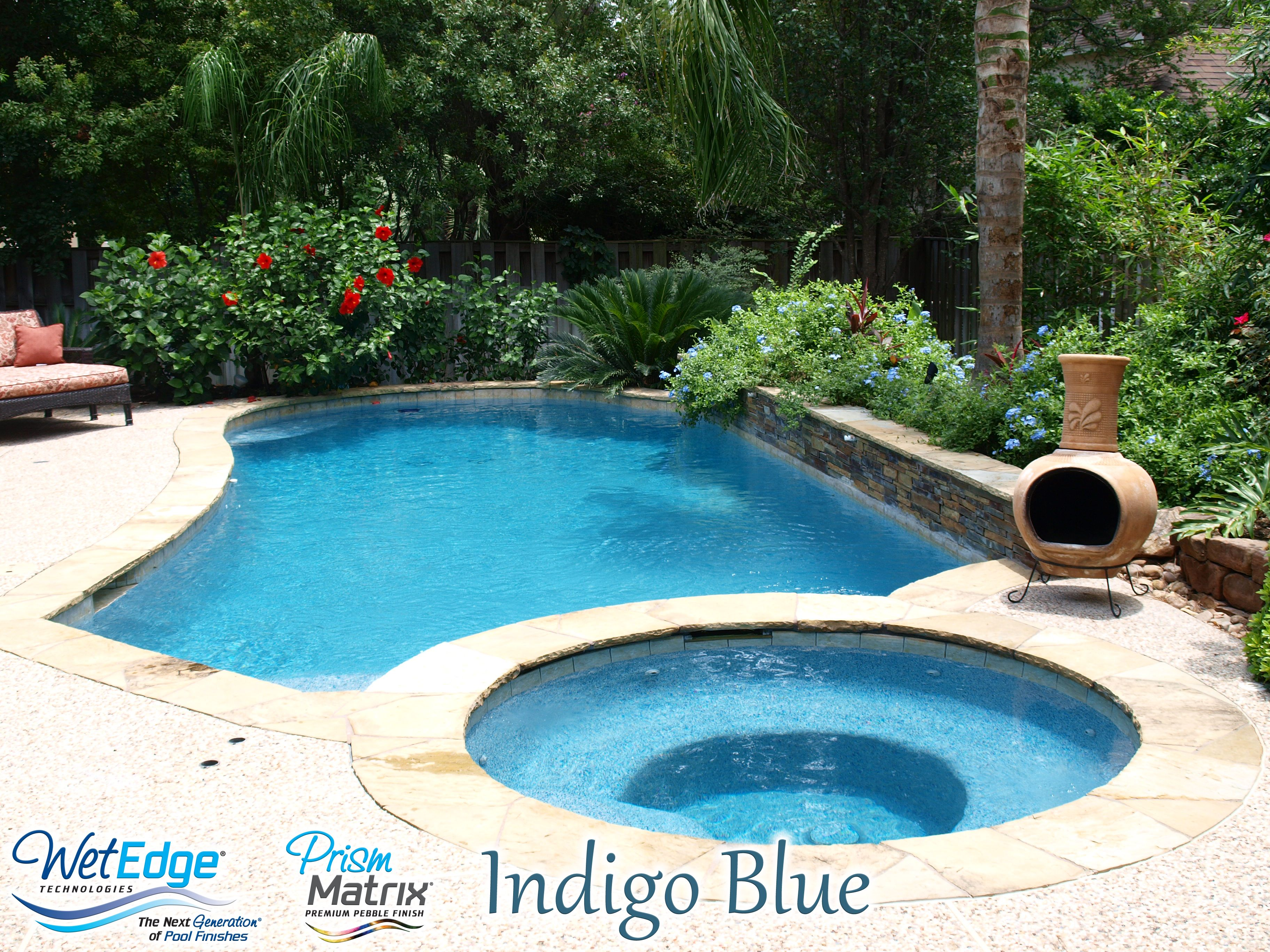 pebble fina bella blue pool plaster color examples pinterest