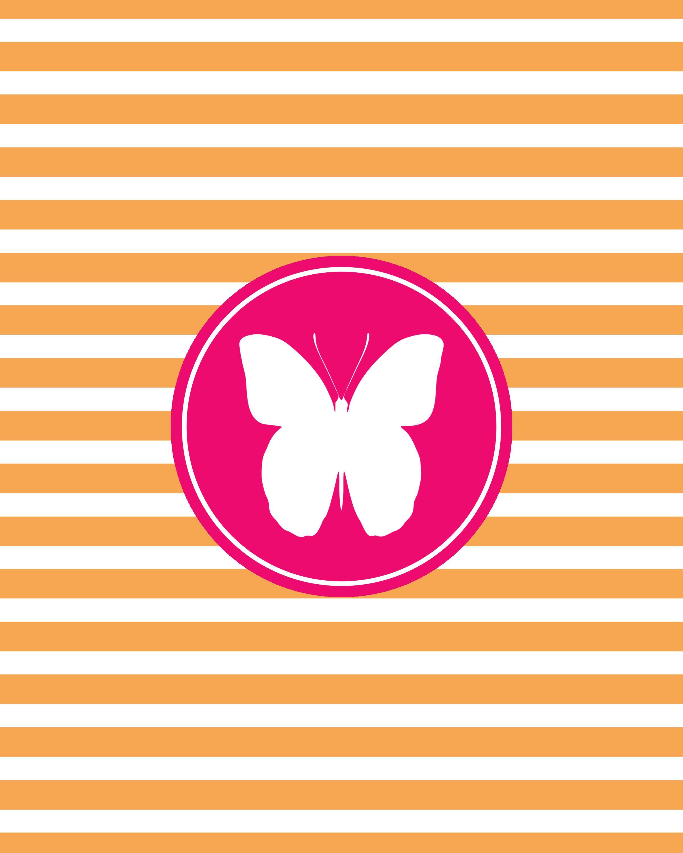 Free Butterfly Wall Art
