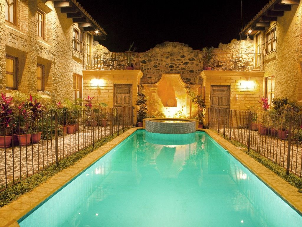 Casa Espiritu Santo Central Hidden Secret W Pool Hot Tub Antigua Guatemala Pool Hot Tub Pool Houses Hot Tub House