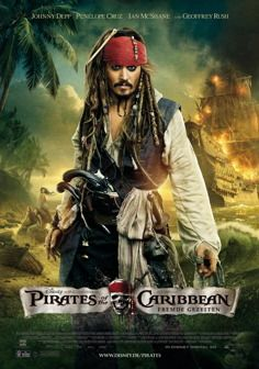 Pirates Of The Caribbean Fremde Gezeiten Trailer Deutsch Pirates Of The Caribbean Fremde Gezeiten Fluch Der Karibik 4 Fluch Der Karibik Horrorfilm Poster