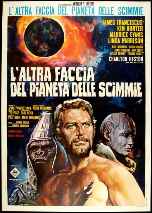 Science Fiction 1970 1979 100 Years Of Movie Posters 58 With Images Science Fiction Movie Posters Planet Of The Apes Science Fiction Movies