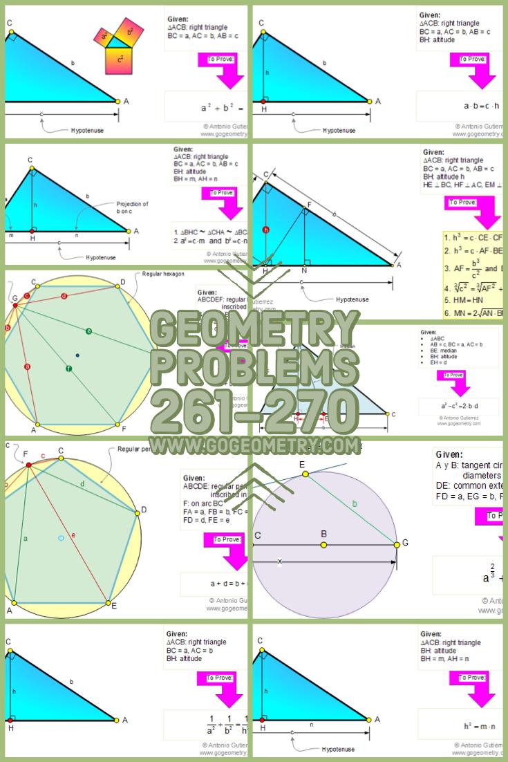 Fresh Ideas - Pin by Antonio Gutierrez on Geometry Theorems and