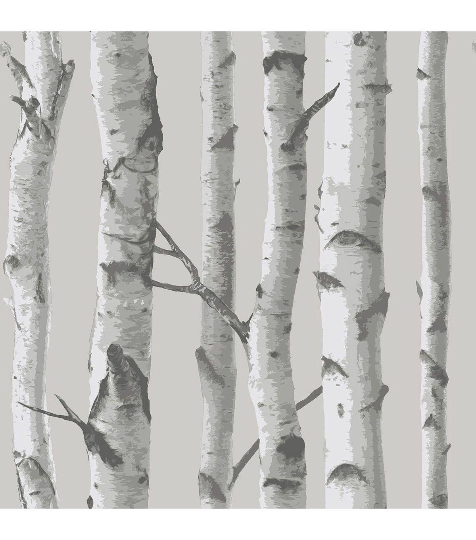 Wallpops Nuwallpaper Peel Stick Wallpaper Mountain Birch Birch