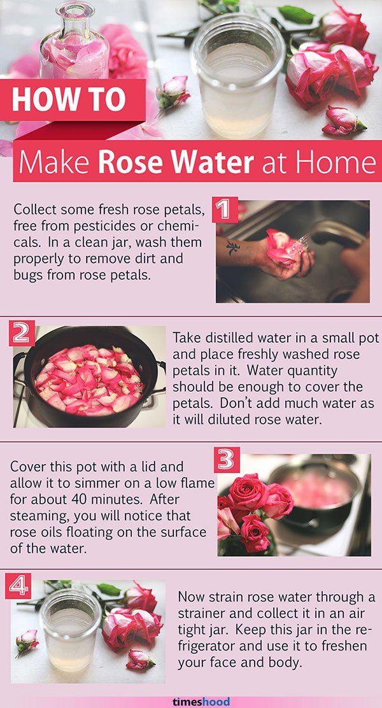 Make Rose Water Rose Water Diy Rose Water For Skin Rose Water Face