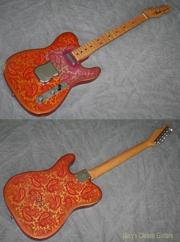 1969 Fender® Paisley Telecaster® (#FEE0781) Excellent, Original Hard, $15,900.00 (via Gbase.com)
