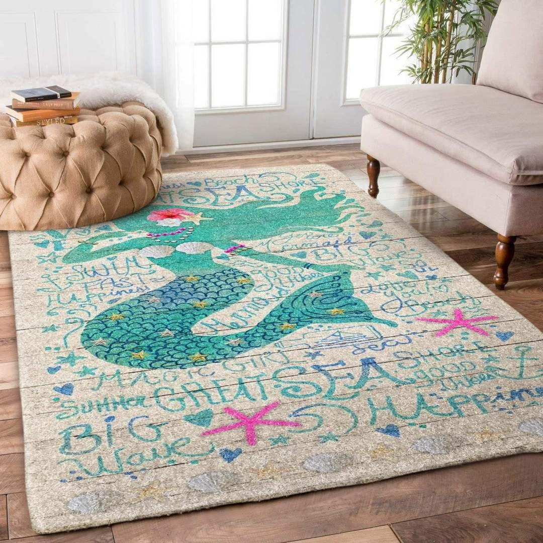 Mermaid Hn1710090r Rug Azcozy Rugs Cozy Rugs Trendy Colors