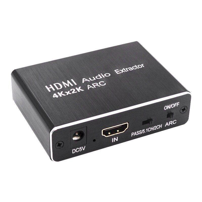 Wholesale Hdmi Audio Extractor Converter Support 4k 60hz Hdmi Converter Adapter Support Arc 3d 5 1 In 2020 Hdmi Audio Beauty Health