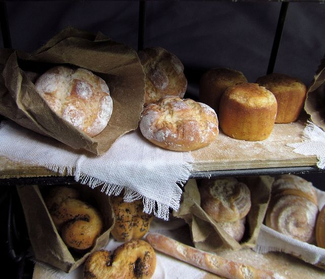 Bag of country bread by goddess of chocolate, via Flickr