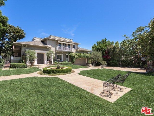 499 Halvern Drive Los Angeles Ca 90049 New Orleans Mansion Backyard Shade Mansions