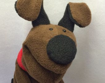 Items similar to Melvin Mouse - Hand Puppet (moving mouth) on Etsy