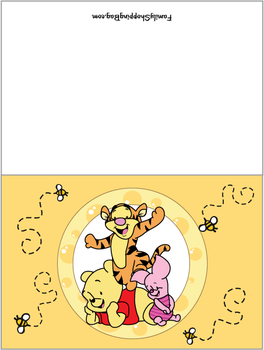 Card Invitations Winnie The Pooh Themes Pooh Invitation Winnie The Pooh Birthday