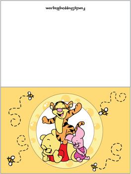 card invitations winnie the pooh