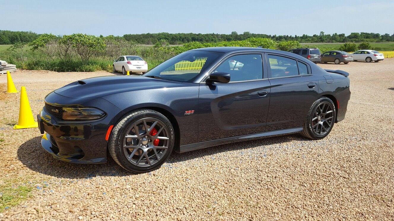 2016 Dodge Charger Scat Pack In Maximum Steel With Images
