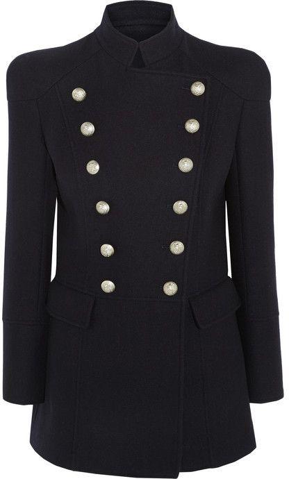 d35c9e79 Pierre Balmain Double-breasted wool coat | Wish List | Coat, Pierre ...