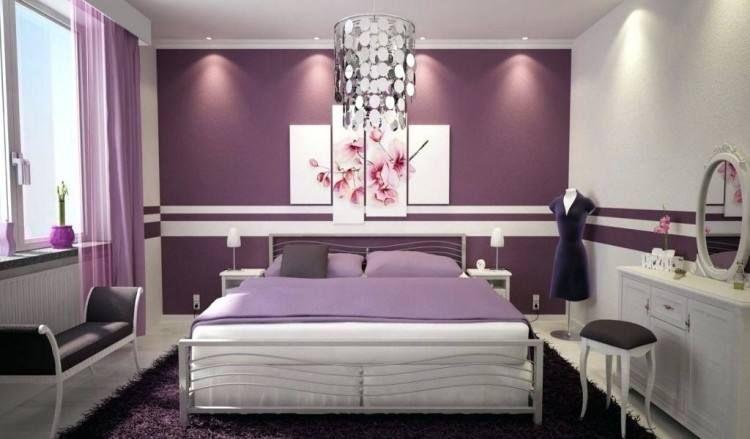 Romantic Purple Bedroom Ideas Purple Bedrooms Purple Bedroom Purple Master Bedroom