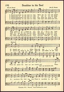 photograph regarding Printable Hymns Sheet Music titled Cost-free Printable Hymn - Sun within the Soul Hymns Unbelievable