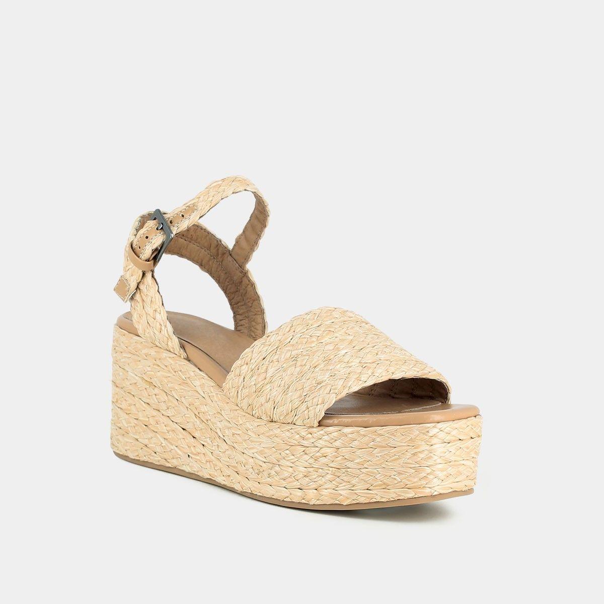 Sandales compensées tressées en raphiaJonak j7TBqryZ7p