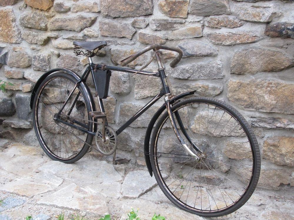 Altes Fahrrad Goricke1927 Lenker Mit Bremse Orig