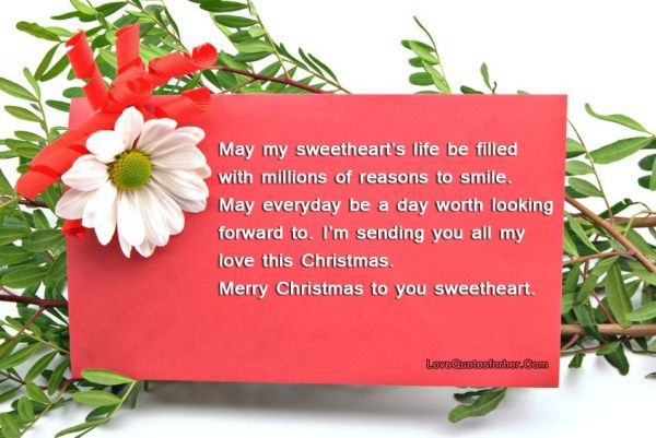 Nice Merry Christmas Wishes For Boyfriend 2016 Free