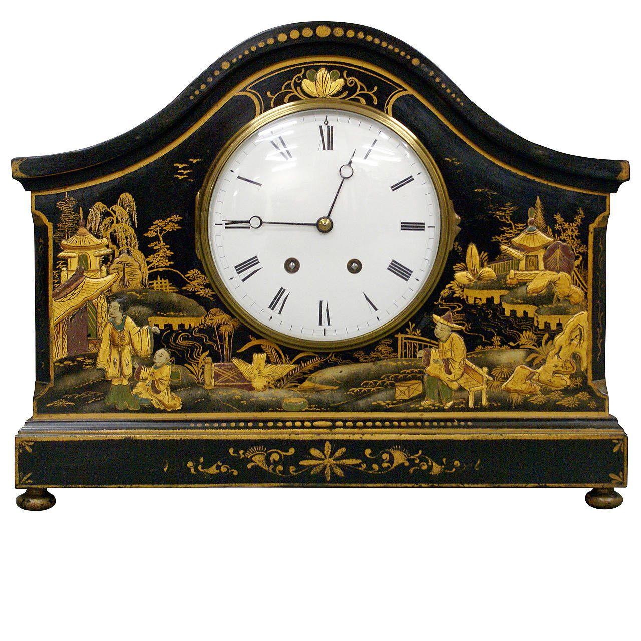 Hometime Teapot Shaped Mantel Clock