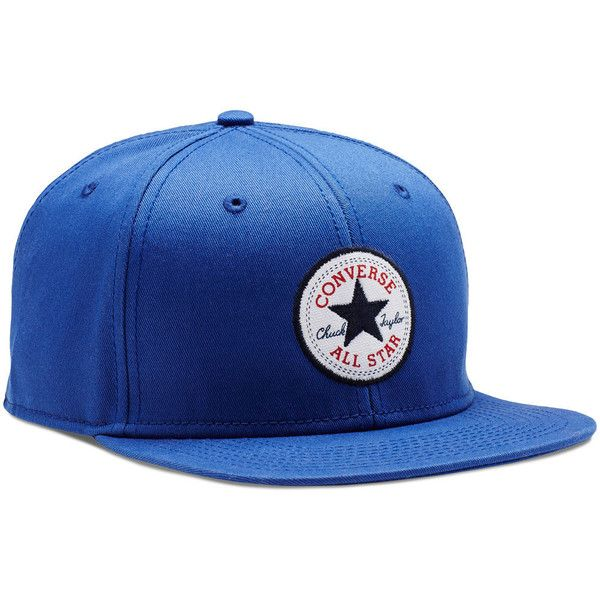 8dedf9c2084d0 Converse Snapback Hat – blue (£17) ❤ liked on Polyvore featuring  accessories, hats, blue, snapback hats, snap back hats, blue hat, converse  hat and cotton ...