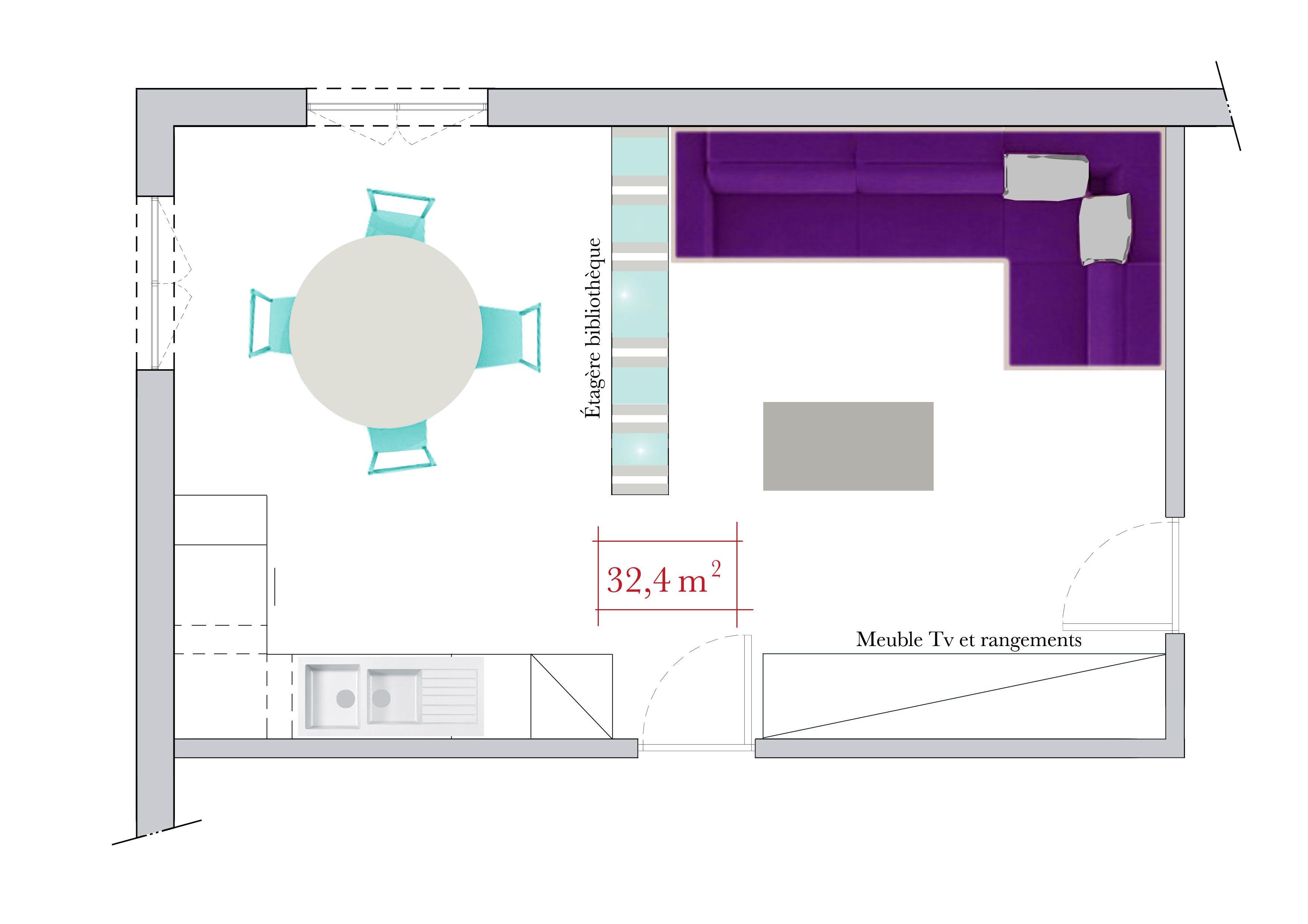 Conseils d\'architecte : comment séparer le salon du coin repas ...