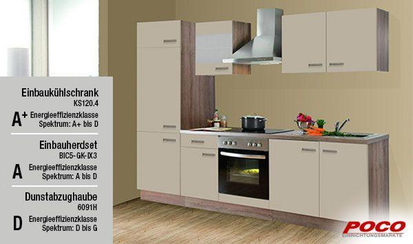 Küchenblock Lena 270 cm - küche bei poco