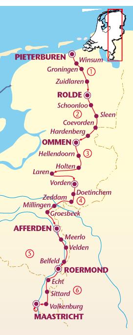Pieterpad nog te doen samen met Manon Dutch Maps Pinterest