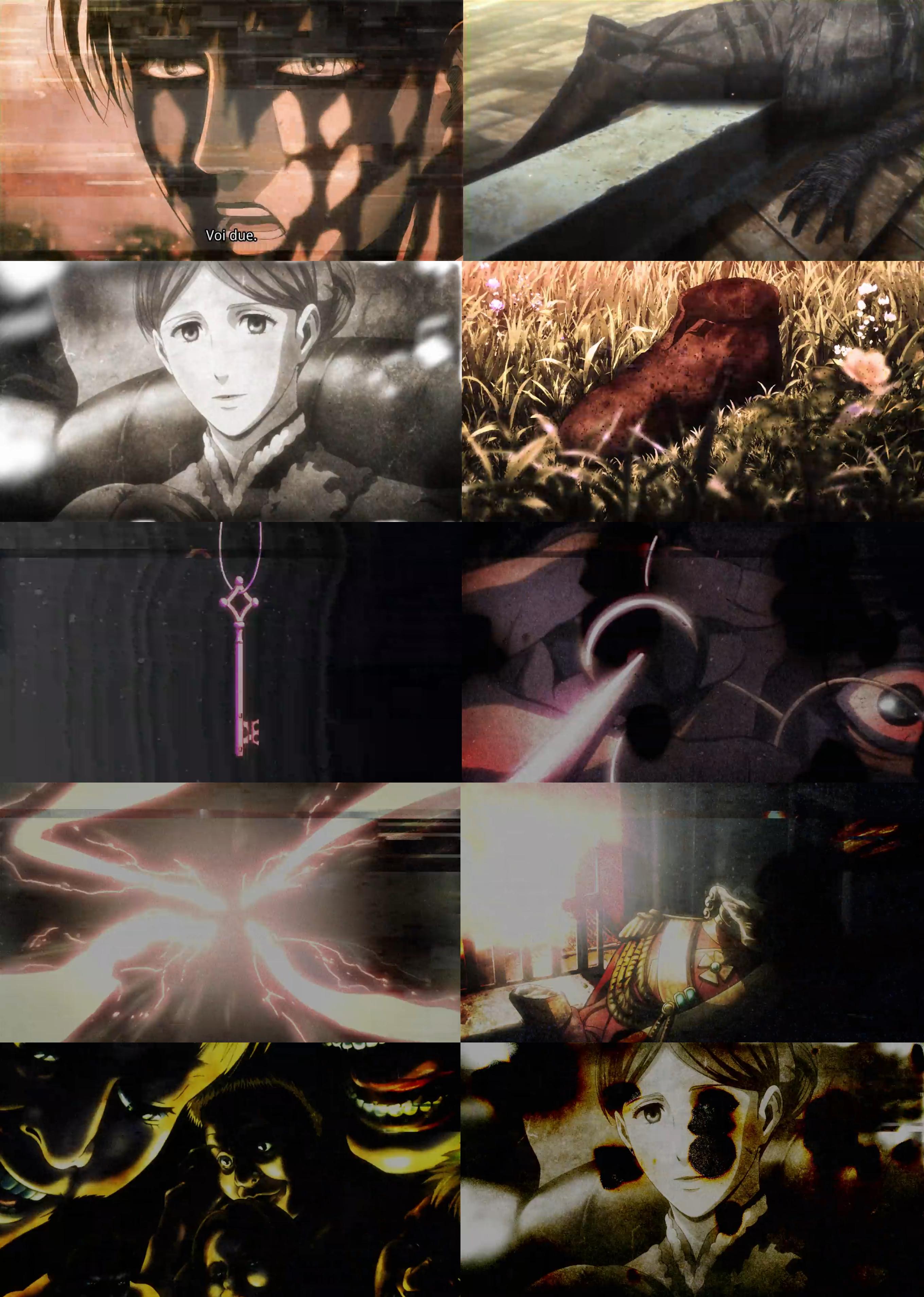 Attack on Titan season 3 ep.12 ending surprise part 1