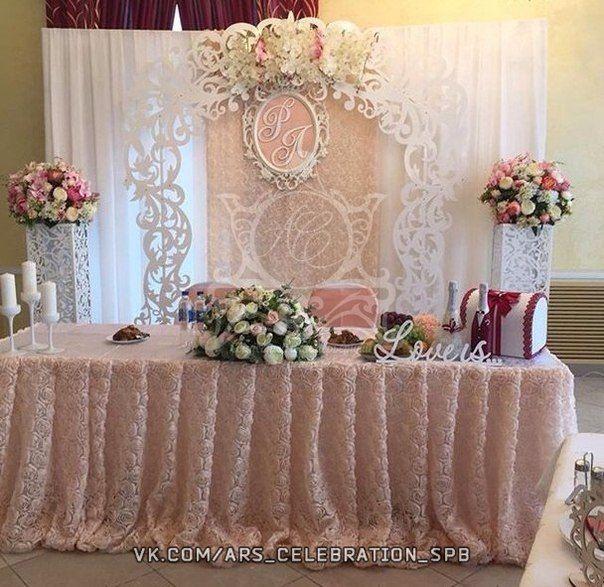 Свадьбы декор оформление