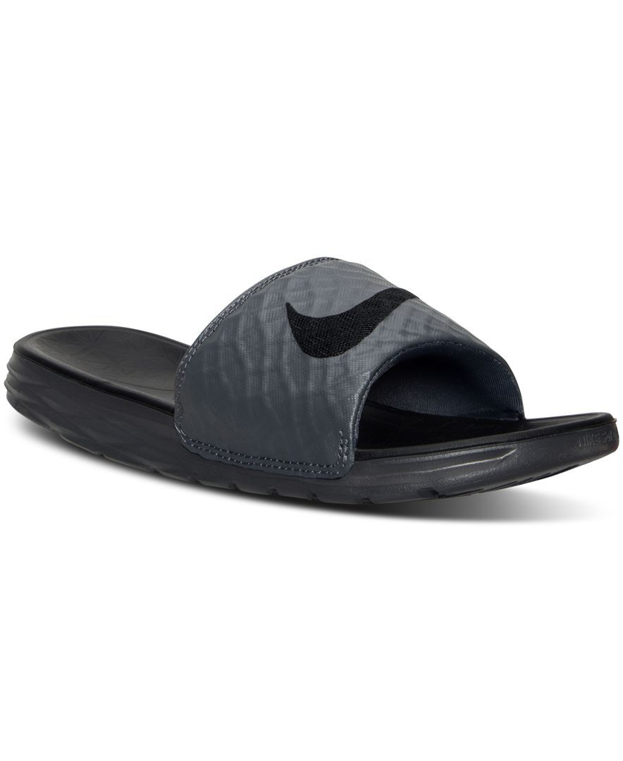 8ef6dfe28afe Nike Men s Benassi Solarsoft Slide 2 Sandals from Finish Line