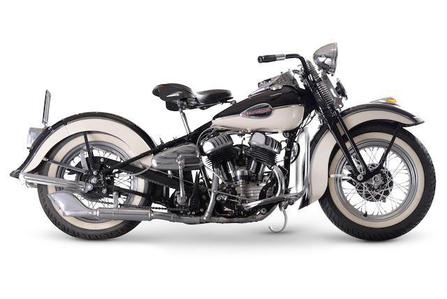1942 Harley-Davidson 739cc WLA Frame no. 42WLA58215 Engine no ...