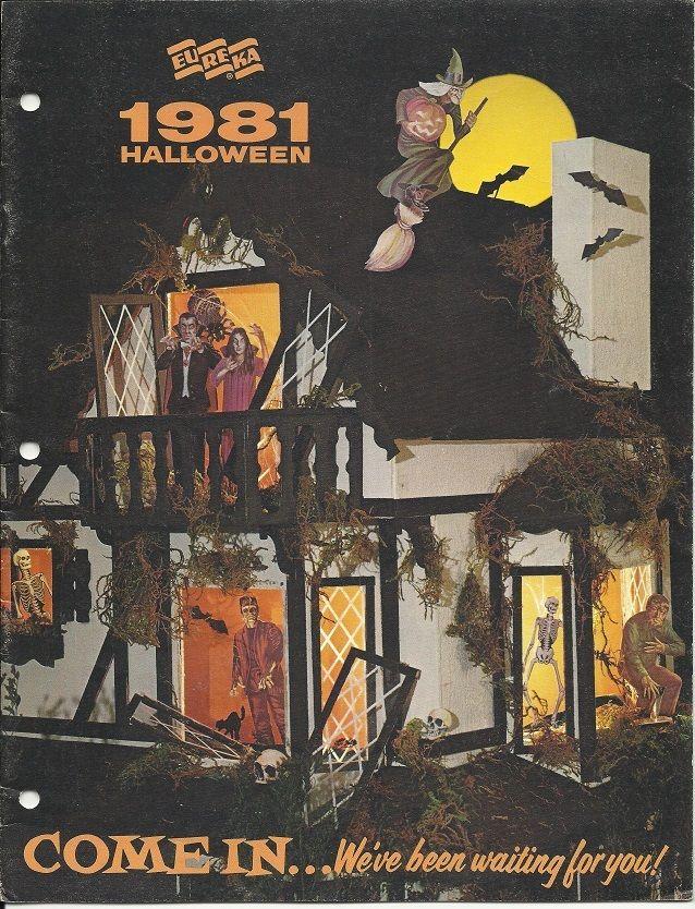 1981 Eureka Halloween Decorations Catalog Vintage Halloween in
