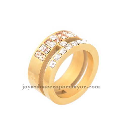 mens wide band wedding simple gold rings for women-SSRGG16425