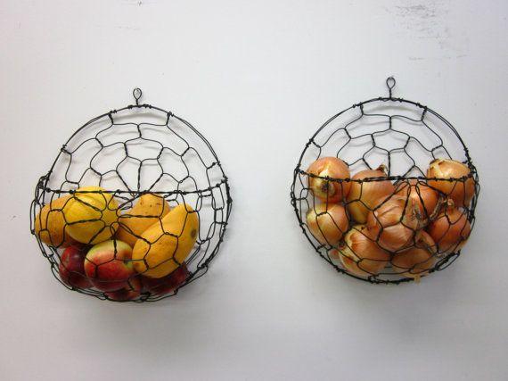 Wall Fruit Basket Baskets On Wall Fruit Baskets Diy Fruit Basket