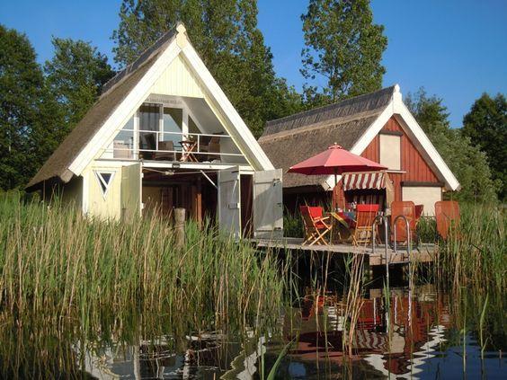 Komfortables Bootshaus Am Granzower Moschen Bootshaus Ferienhaus Am See Deutschland Ferienhaus Am See